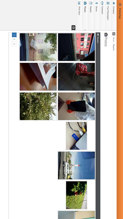 Statistika naloženih fotografij po uporabniku, času, lokaciji